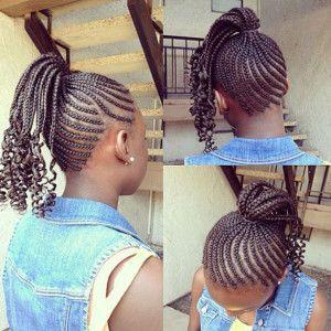 african american children hairstyles  braids or weaves