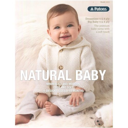 1315 Natural Baby by Patons | Knits for Children | Pinterest