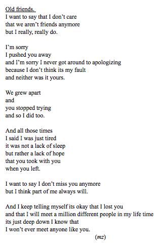 Tumblr | Quotes | Pinterest | Friendship, Qoutes and Poem