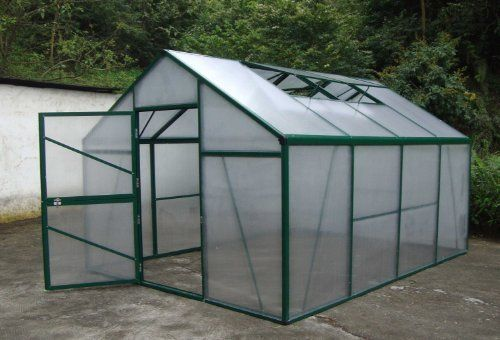 Harvest Greenhouse 10x13 4 Roof Vents 10mm Polycarbonate by