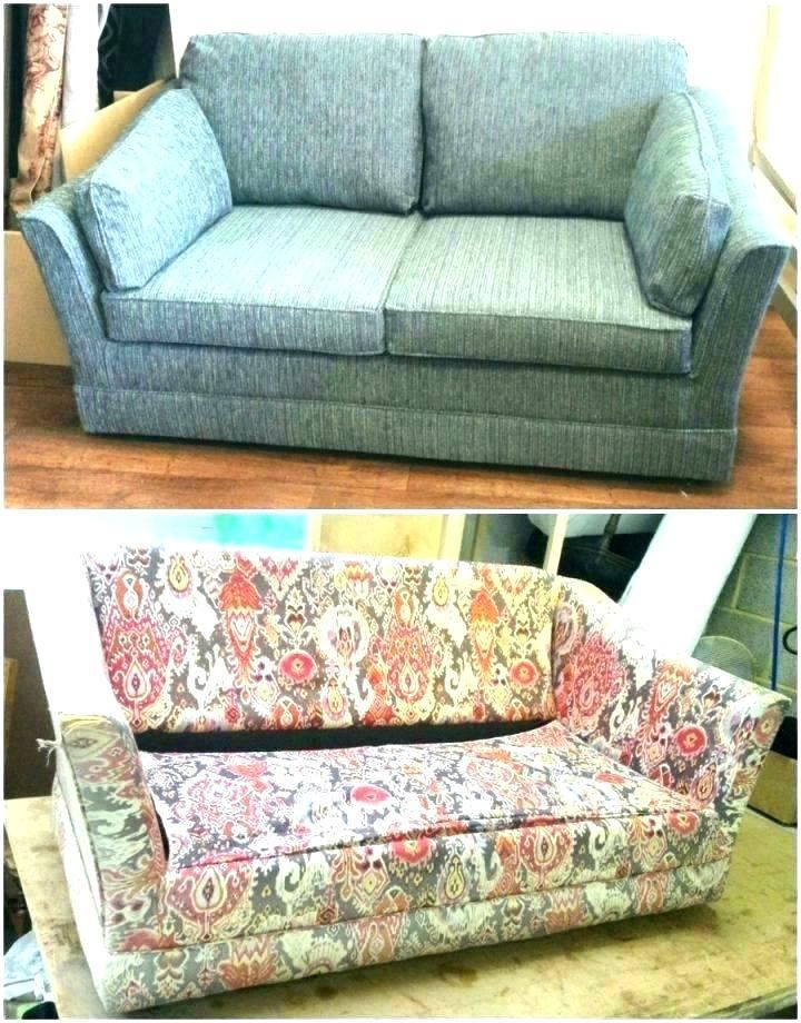 More click [...] How To Reupholster A Couch With Attached