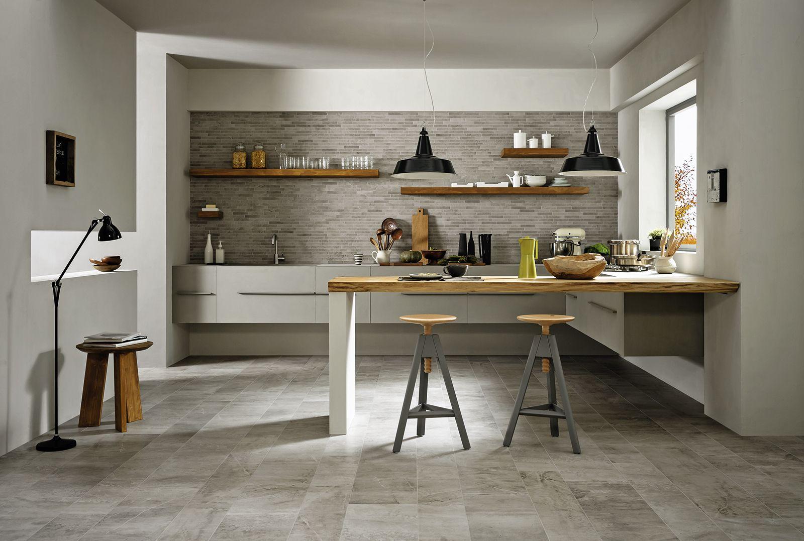 #Blend | #ceramic #tiles for #kitchen #Marazzi #ModenaFliser