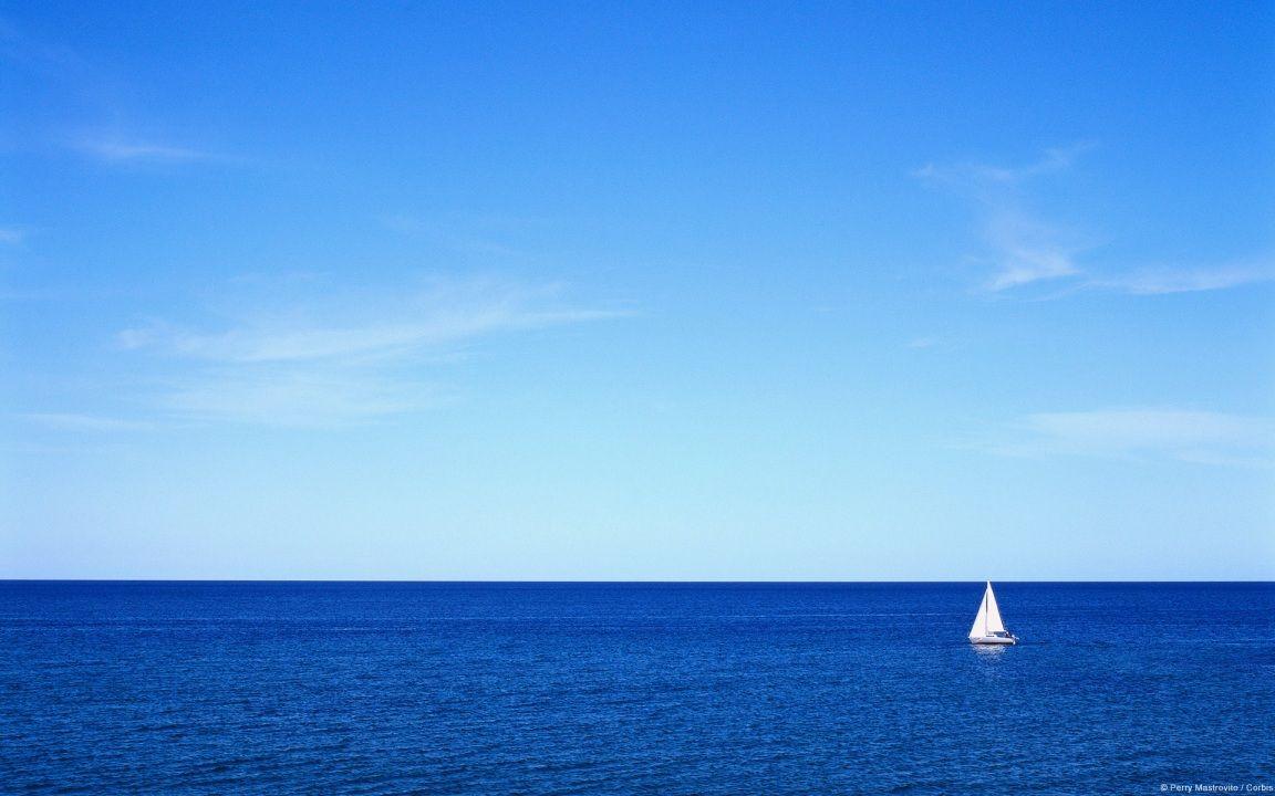 blue sea hd desktop wallpaper : high definition : fullscreen