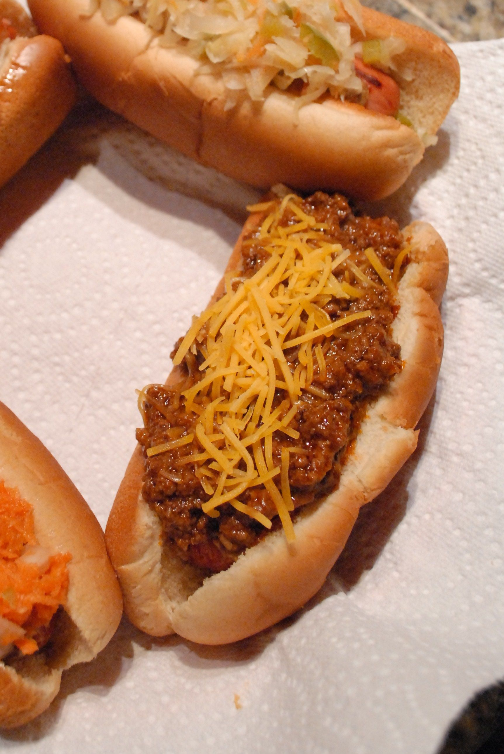 Super Bowl Grub Ultimate Hot Dog Chili Recipe Recipes