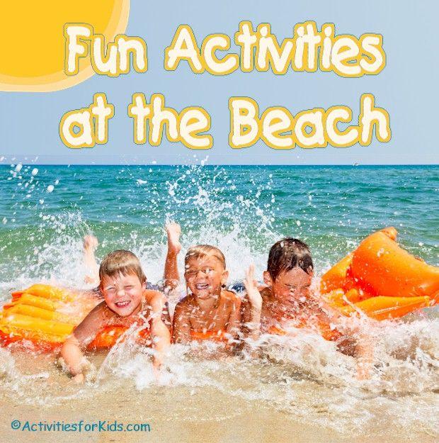 fun beach games for teens