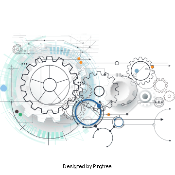 Vector Technology Elements Beautifully Gear Machinery Gear Png Transparent Clipart Image And Psd File For Free Download Vector Technology Graphic Design Background Templates Futuristic Technology
