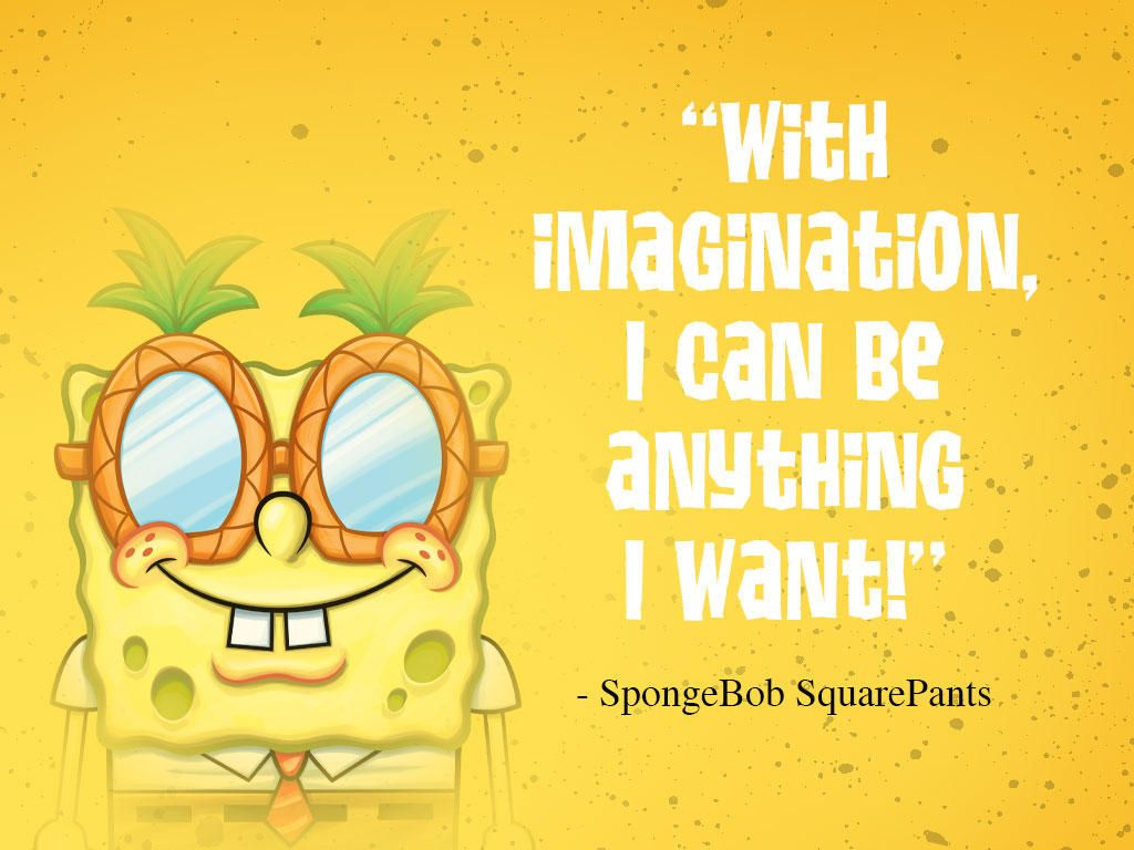 bottom words of wisdom from spongebob squarepants