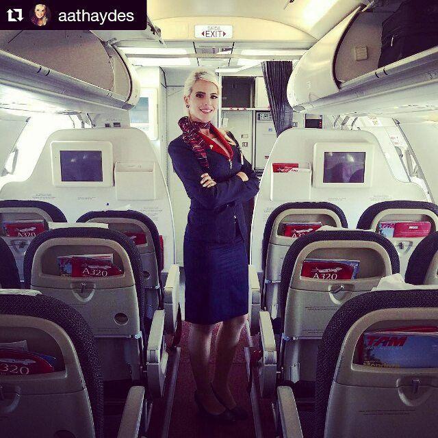 TAM Airlines stewardess | Orlando, Florida | Tam airlines ...