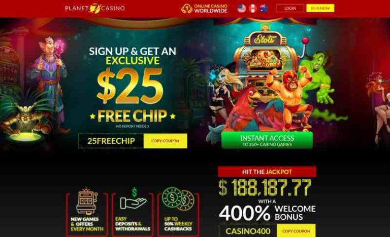 Free Coupon For Online Casino Games