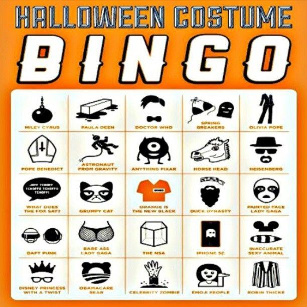 Hurjaa Halloweenia! #naamiaiset #halloween #bingo #JackOLantern #kallionkirjasto #kallio