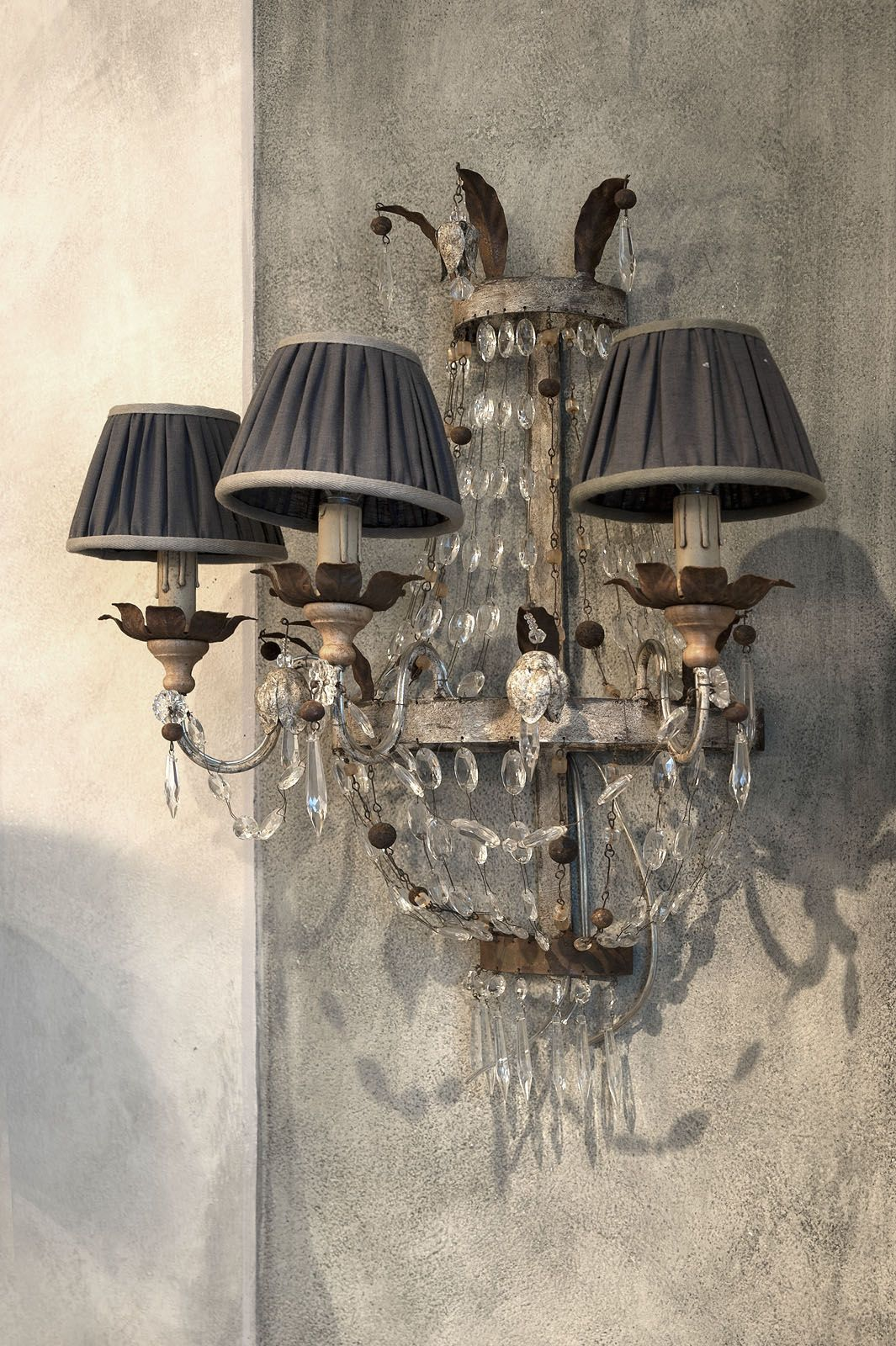 Emanuela Marchesini _   French Country Design   Lampadari, Paralumi ...