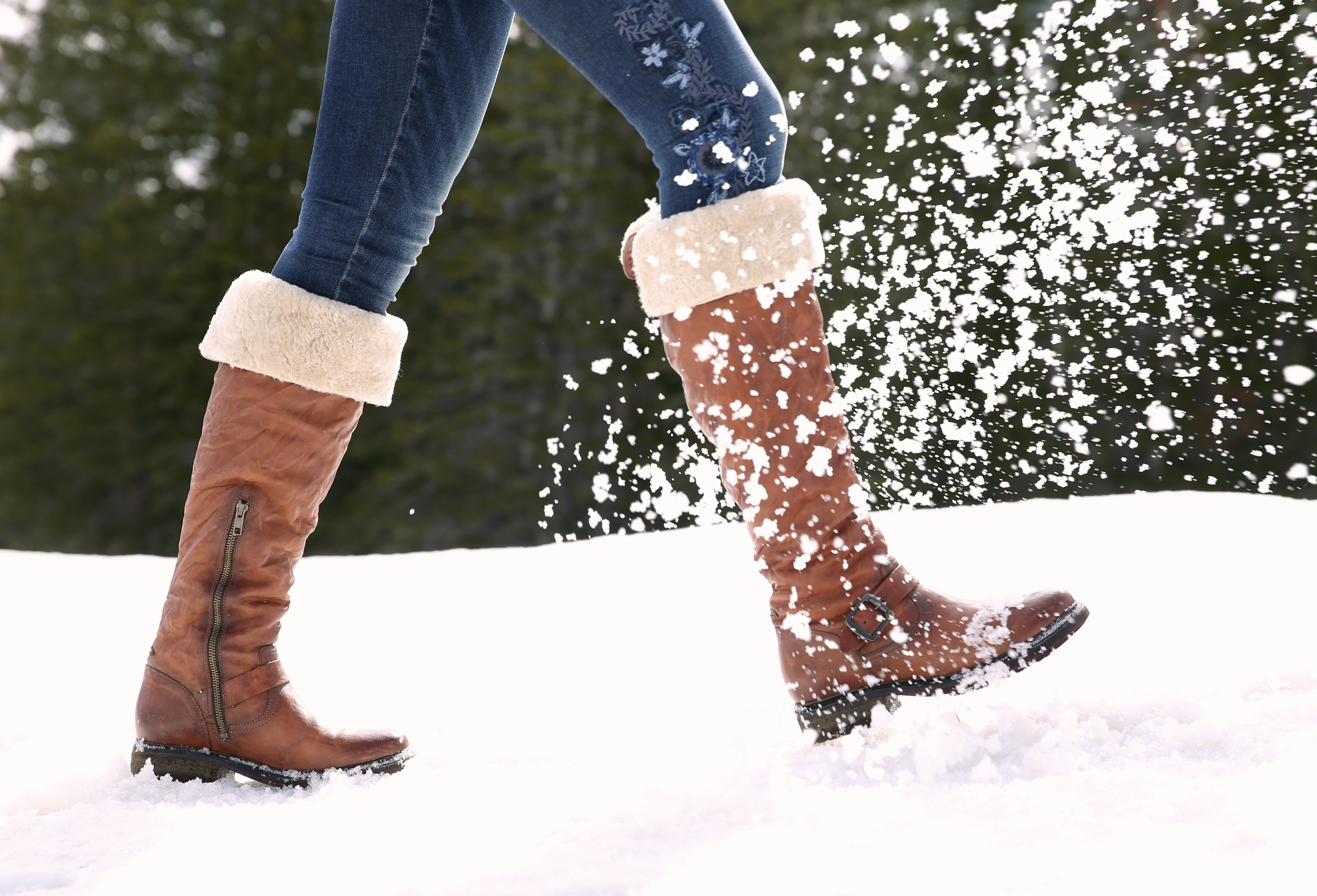 2a00ea6c839 Valerie Shearling Boots - These fully shearling-lined