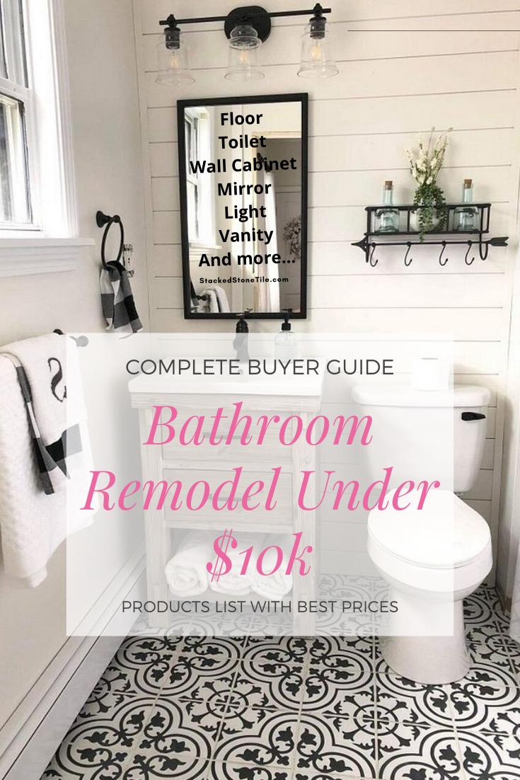 Bathroom Remodel Ideas On A Budget Under 10 000 Bathroom