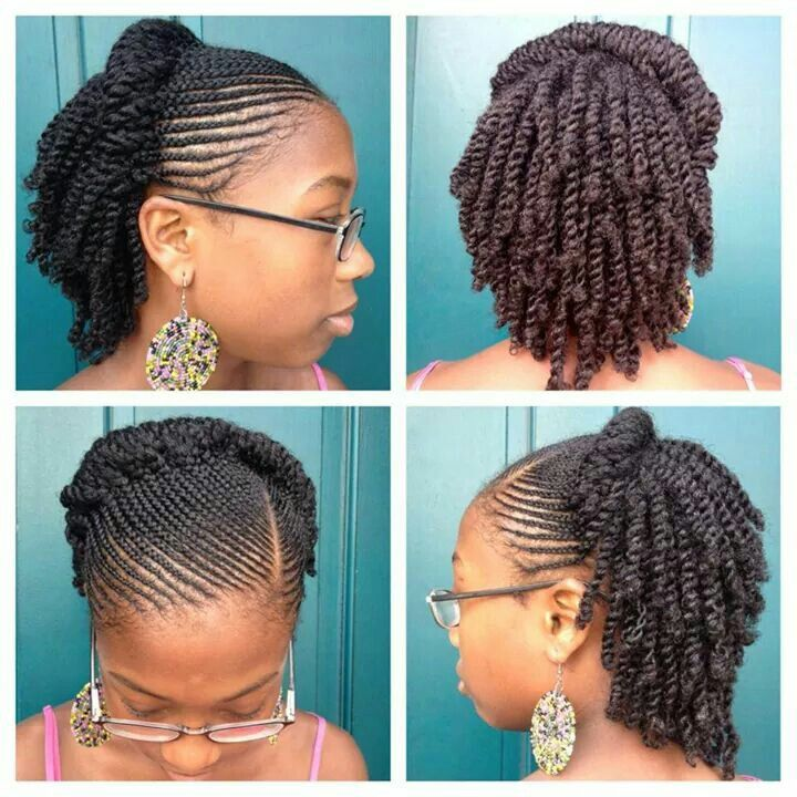 2 Strand Twist Hairstyles For Curly Hair Havana Twist Hairstyles Twist Hairstyles Curly Hair Styles