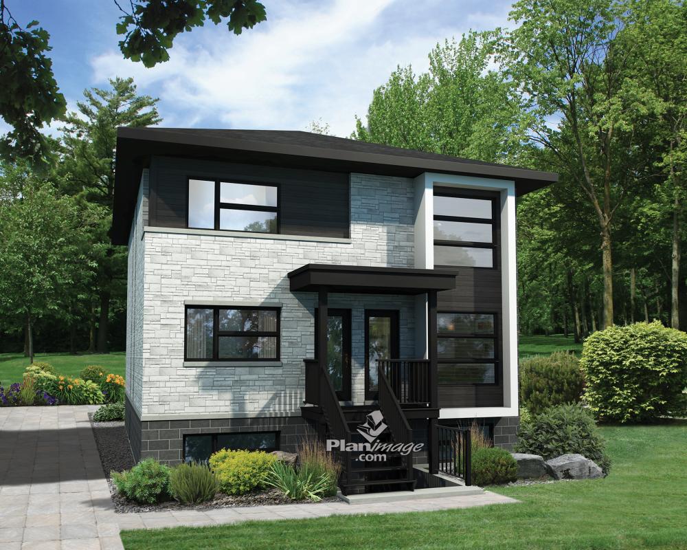 parfait triplex pour proprio occupant plans de maison pinterest r ver en grand maison. Black Bedroom Furniture Sets. Home Design Ideas