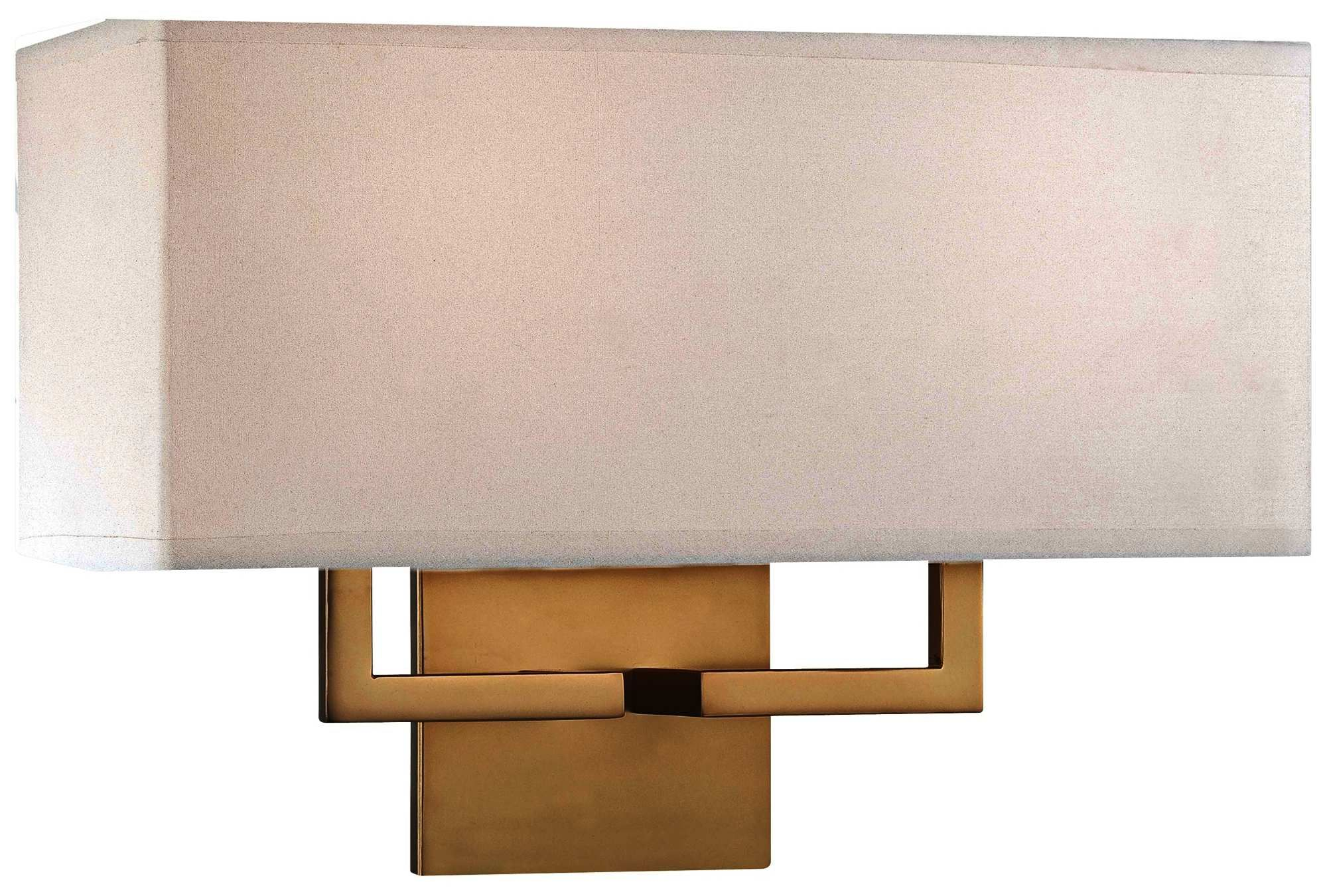 George Kovacs Rectangle 11 Gold Wall Sconce Bronze Wall Sconce Wall Sconces