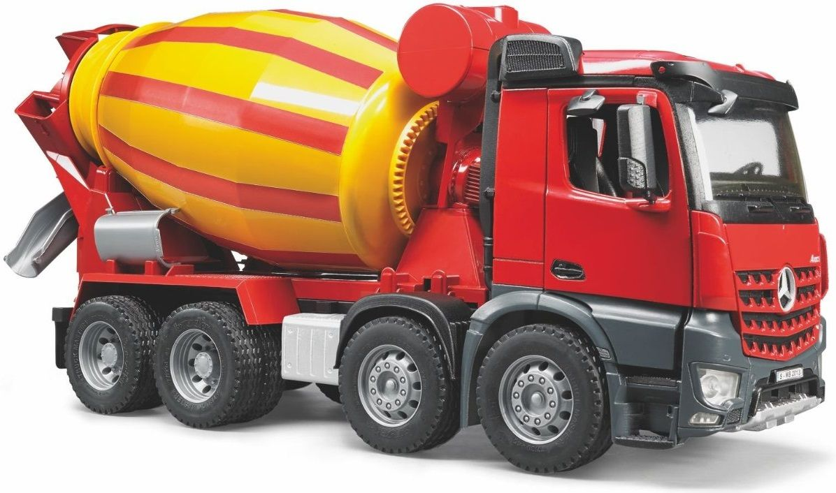 The Mb Arocs Cement Mixer Truck From The Bruder Truck Collection Discounts On All Bruder Toys At Wonderland Models One O Toy Trucks Trucks Model Truck Kits