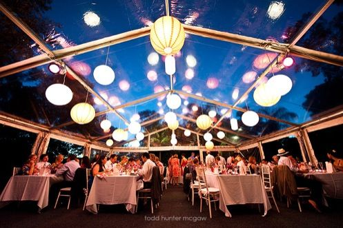 Tent receptions...other decorations?  wedding tent reception decorations Clear Tent At & Tent receptions...other decorations? : wedding tent reception ...