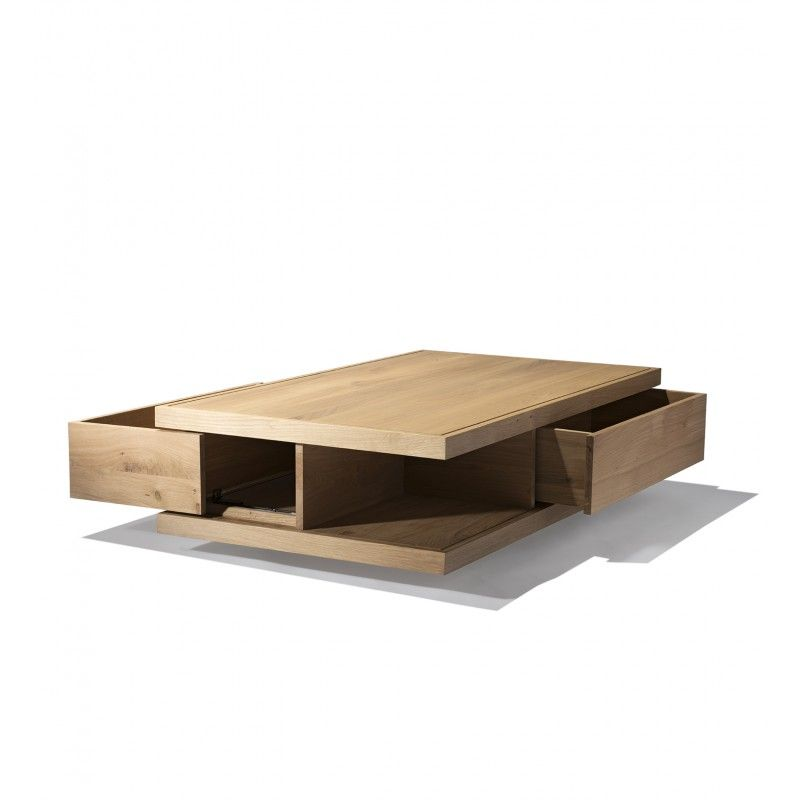 Ordinaire Industry West Oak Flat Coffee Table. New To Industry West With Our  Collaboration With Ethnicraft The Flat Coffee Table Is Made Of Solid French  Oak And ...