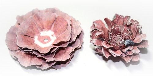 carnation+creations+by+donna+salazar+tutorial | use an 'awl' to hold the two together until the glue takes. I ...