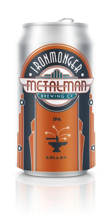 Metalman Ironmonger IPA 330ml Can | thebeerclub.ie