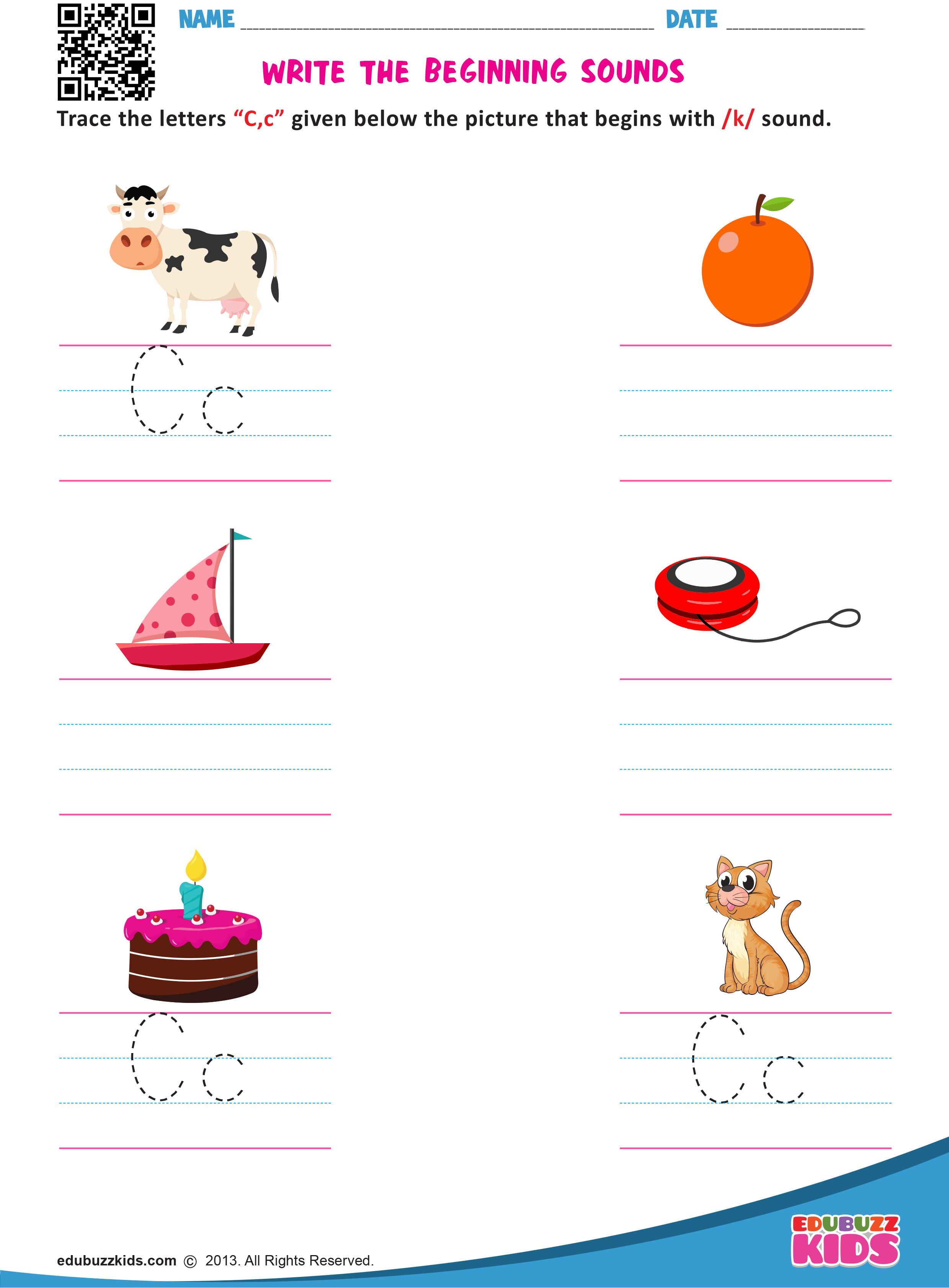 Printable Kindergarten Worksheets Including The Practice