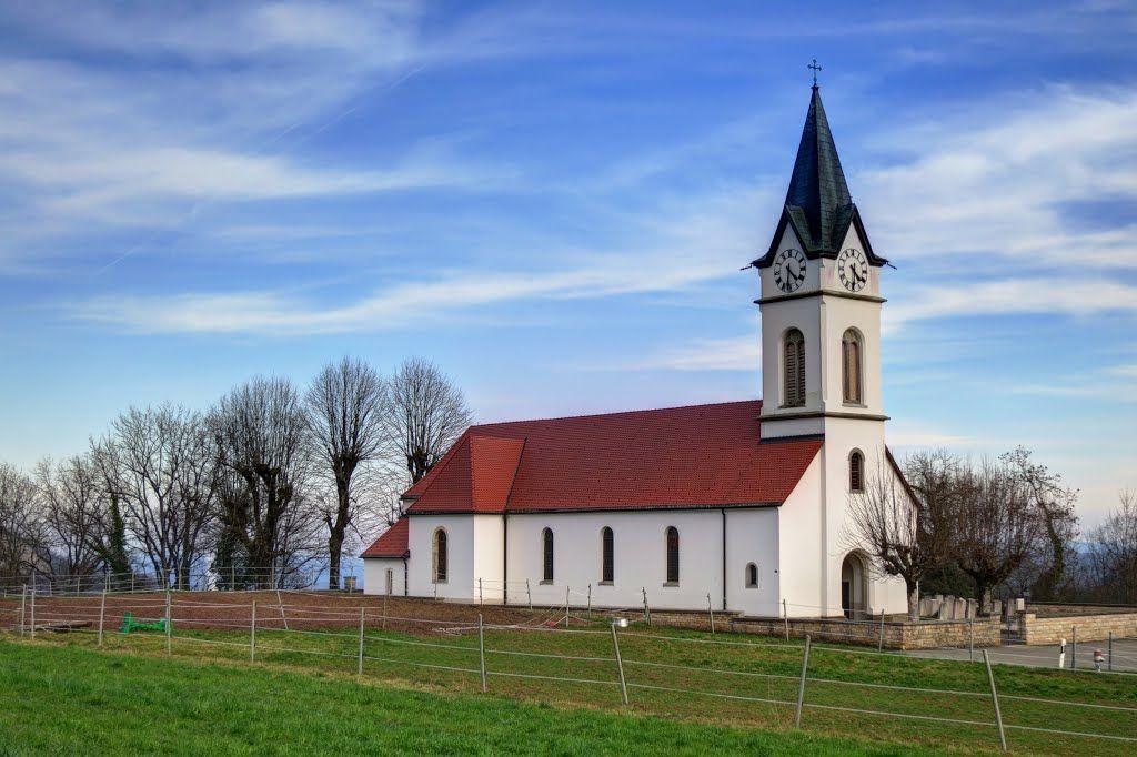 Kirche von Ifenthal, März 2014