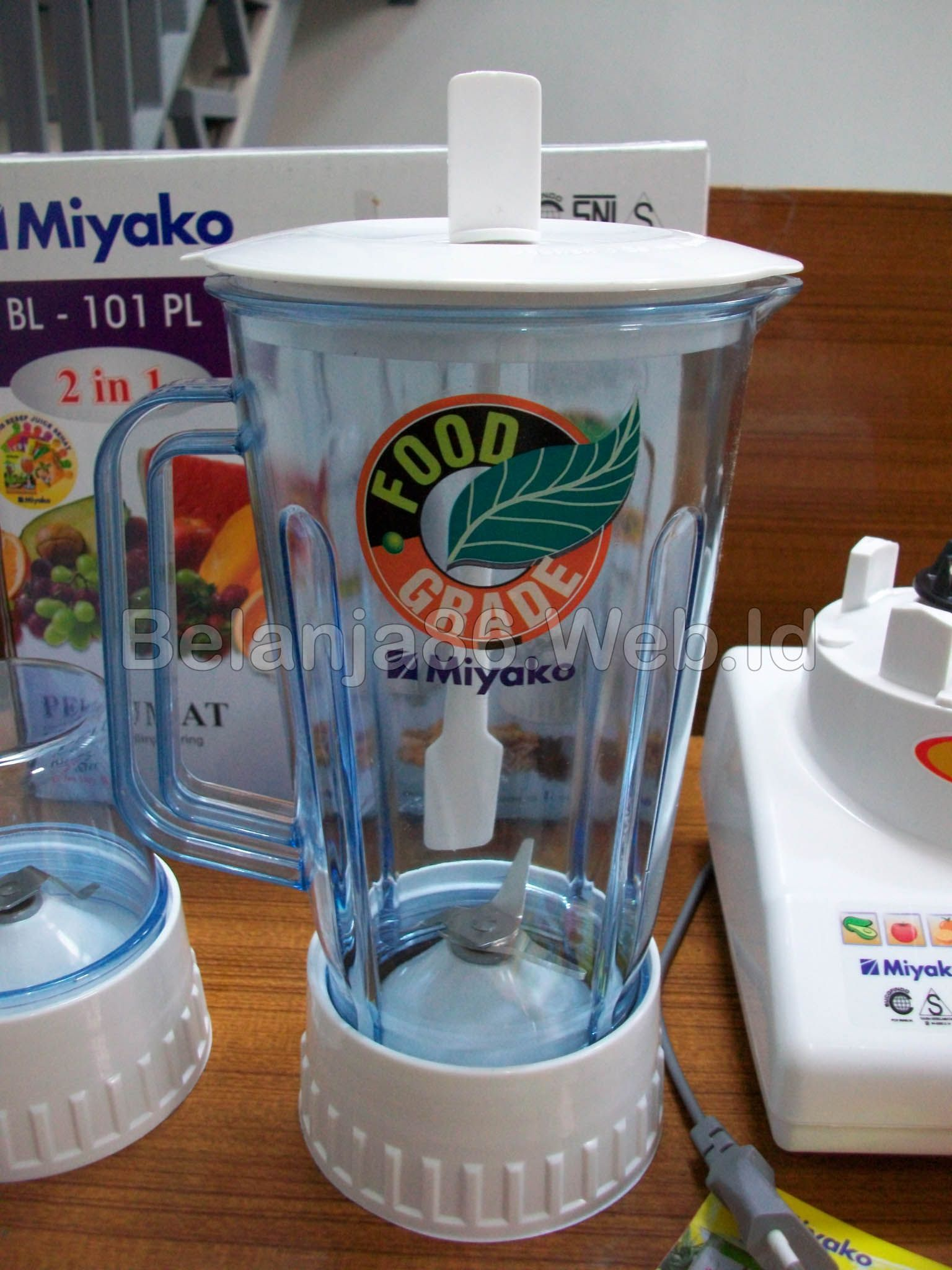 Blender Miyako Bl 101pl 2 In 1 With Dry Mill Other Juicer Hand Mixer Ampamp Stand Hm 620