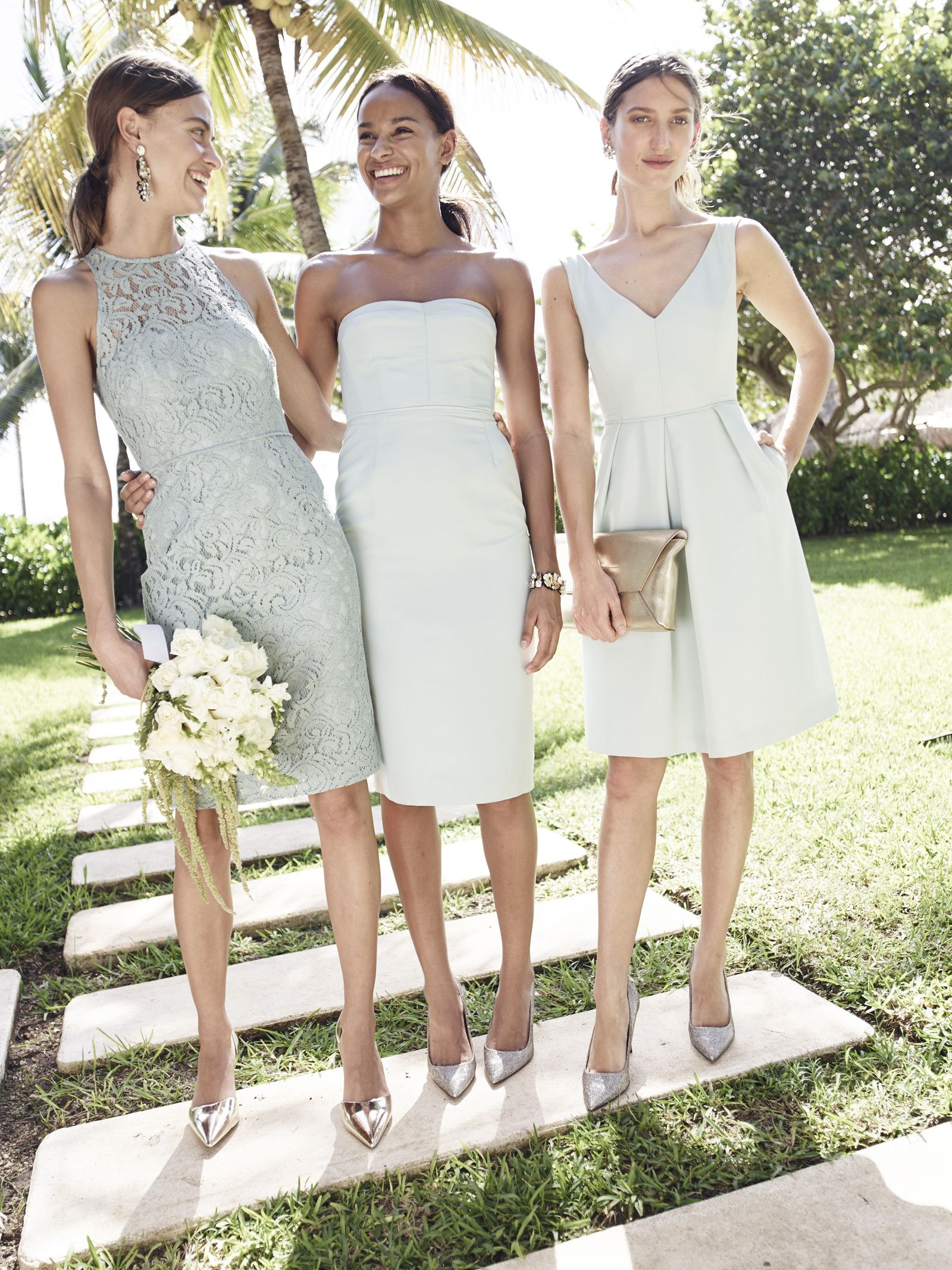 Weddings Parties J Crew Women S Pamela Dress In Leavers Lace Crystal Fabric