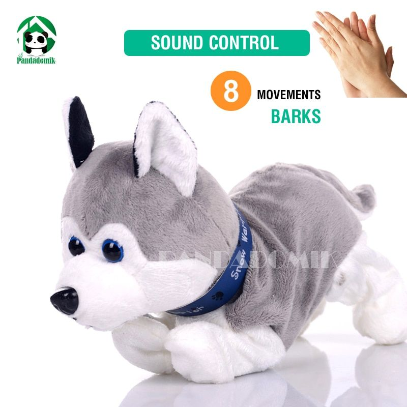 Electronic Pet Dog Interactive Toy Sound Control Dog Dolls Soft Toys Baby Toy Plush Dolls Dog Toys For Children Kid Shop Global Kids Baby Shop Online Ba