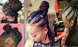 5 Box Braids Bun for Beautiful Black Women - #beautiful #black #braids #women - #frisuren #bunshairstylesforblackwomen