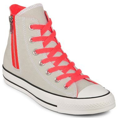 184ab51e47256 Converse® Chuck Taylor Side Zip Hi-Tops - jcpenney
