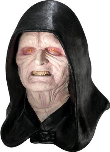 Rubieu0027s Costume Menu0027s Star Wars Deluxe Adult Latex Emperor Palpatine Mask Multicolor One Size  sc 1 st  Pinterest & Rubieu0027s Costume Menu0027s Star Wars Deluxe Adult Latex Emperor Palpatine ...