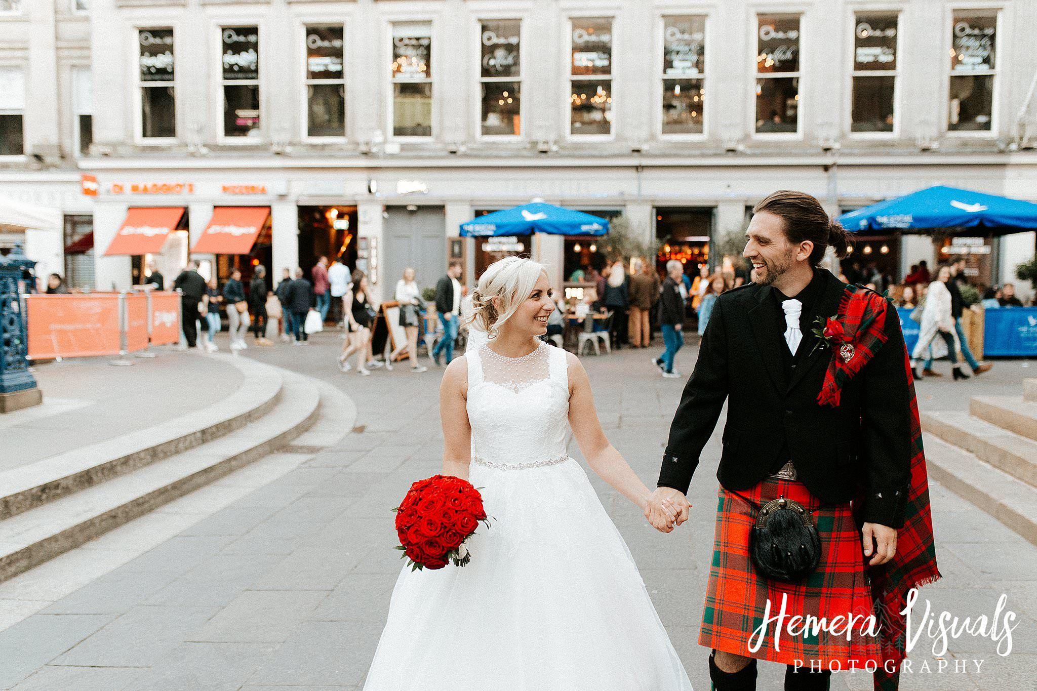 glasgow city scottish wedding scotland | Scottish wedding ...