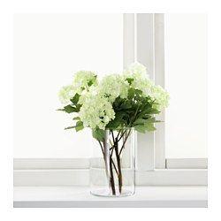 SMYCKA Flor artificial, bola de nieve, verde - IKEA