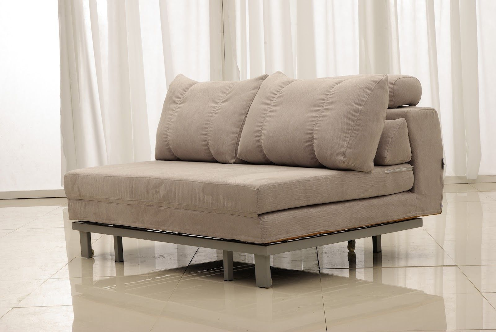 Furniture Awesome Sofa Twin Size Convertible Chair Bed Comfortable