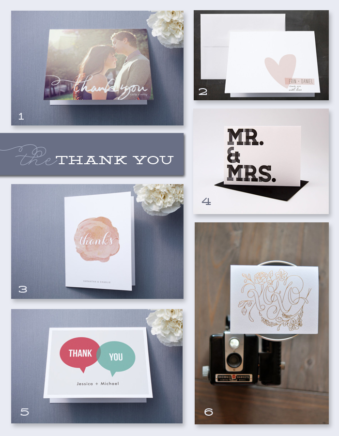 Hint Hint: The Thank You Card