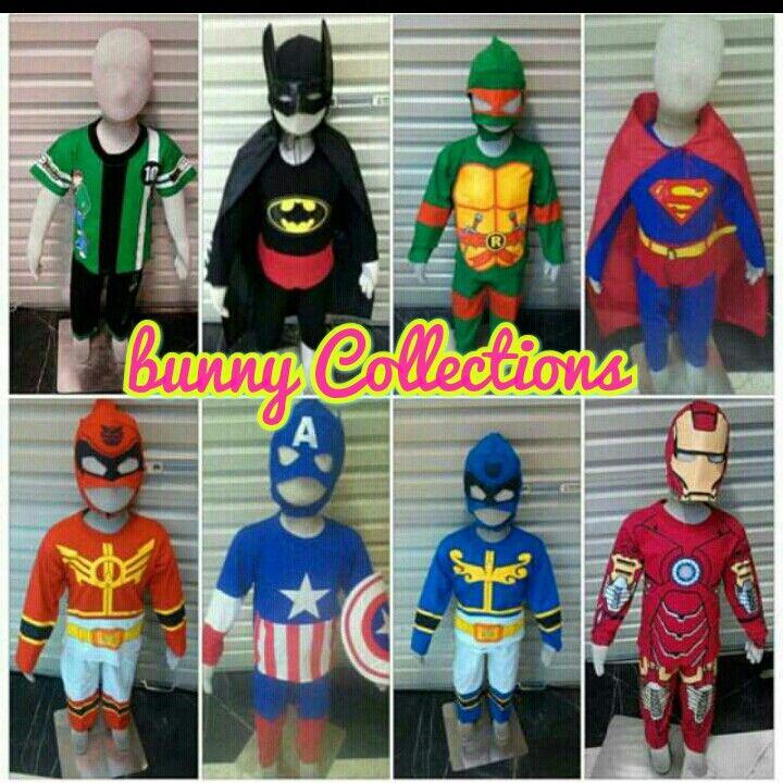 superhero costum ben 10 costum batman costum turtles