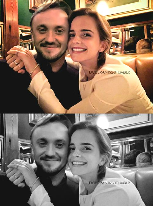 Allthingsfeltson Draco Harry Potter Tom Felton Emma Watson Dramione