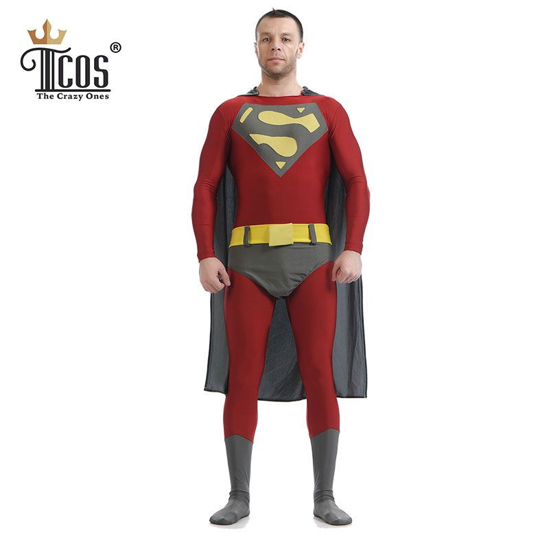 Man Of Steel Superman Costume Men Halloween Cosplay Costumes Zentai Spandex Lycra Nylon Adult Bodysuit Second Skin Tight Suit  sc 1 st  Pinterest & Man Of Steel Superman Costume Men Halloween Cosplay Costumes Zentai ...