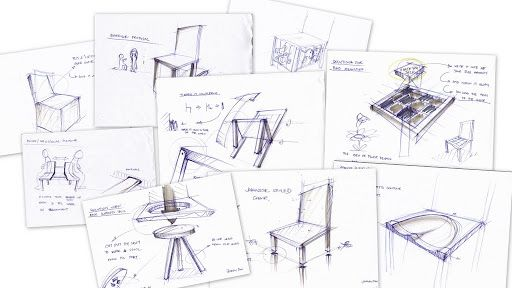 Chair Design Sketches Best Furniture Design and ideas MB one