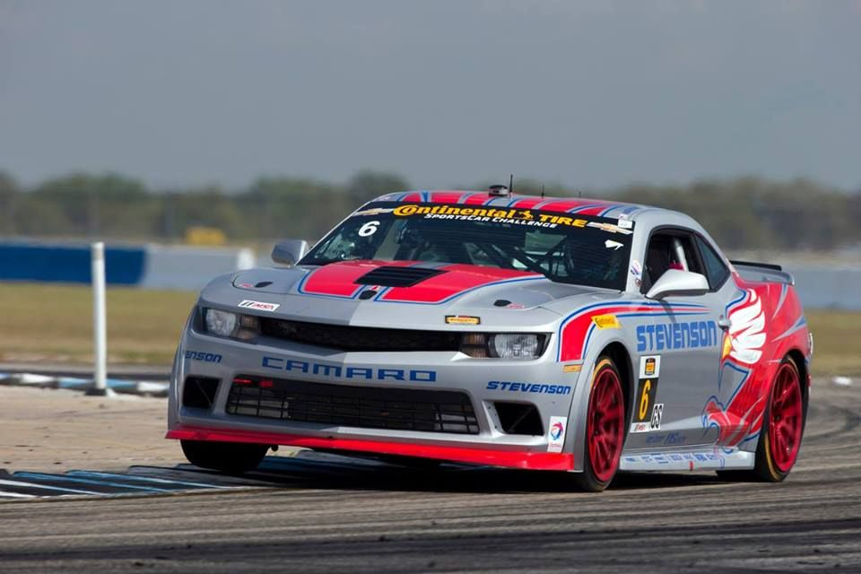 The 2014 Chevrolet Camaro Z28r Racing To A First Place Finish In