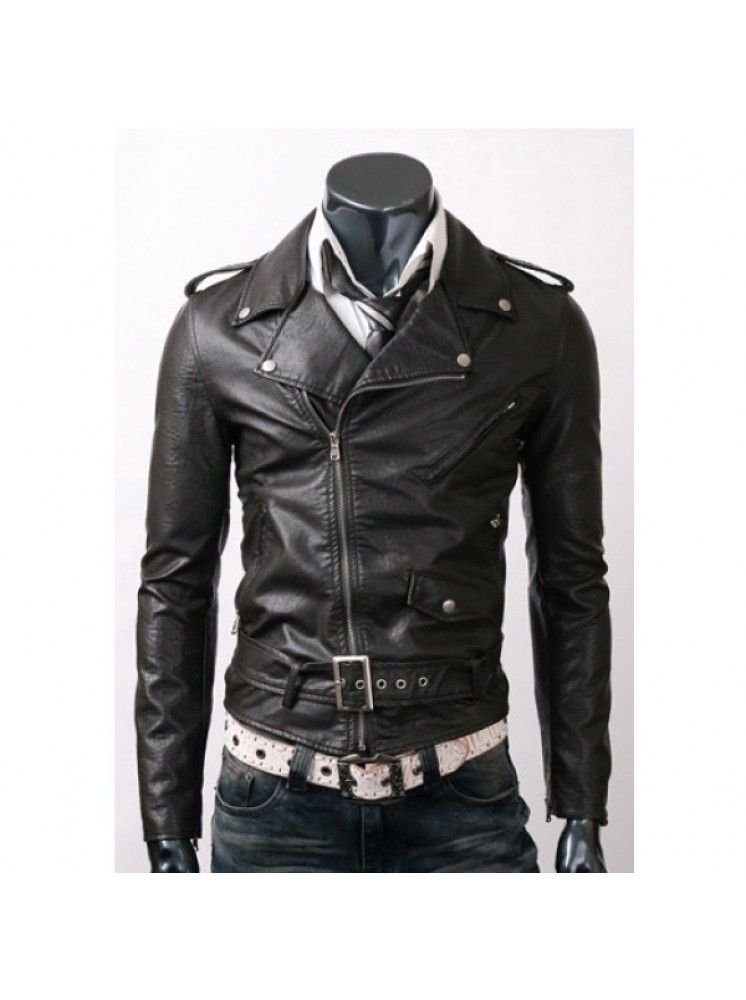 Cheap Price 119 99 Slim Fit Leather Jacket For Men Is Party