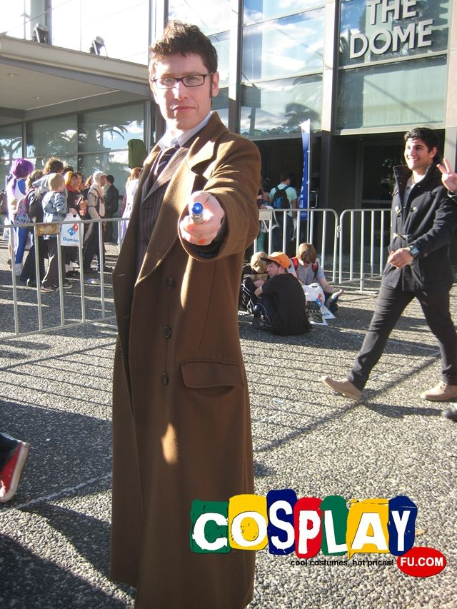 Tenth Doctor Cosplay from Doctor Who in Supanova 2014 AU