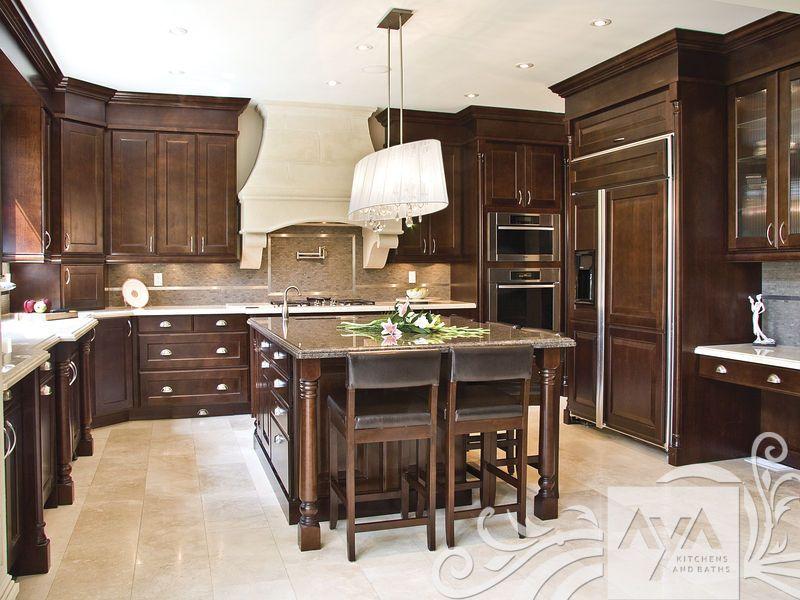 cocinas de madera con isla - Buscar con Google   COCINAS   Pinterest ...