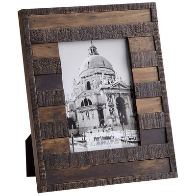 Weathered Log Frame Pier 1 Picture Frame | Picture Frames ...