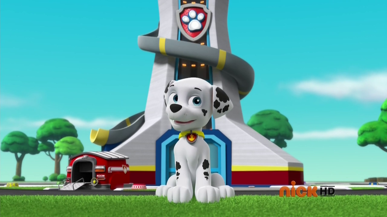 Marshall/Gallery/Pups Leave Marshall Home Alone | Paw Patrol
