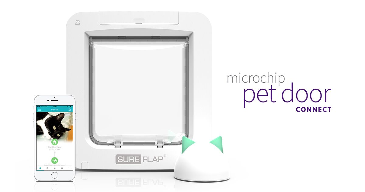 Control access and monitor activity of your pets from the