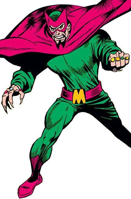 Iron Man's foe the Mandarin, way back during the 1960s. Nefarious !