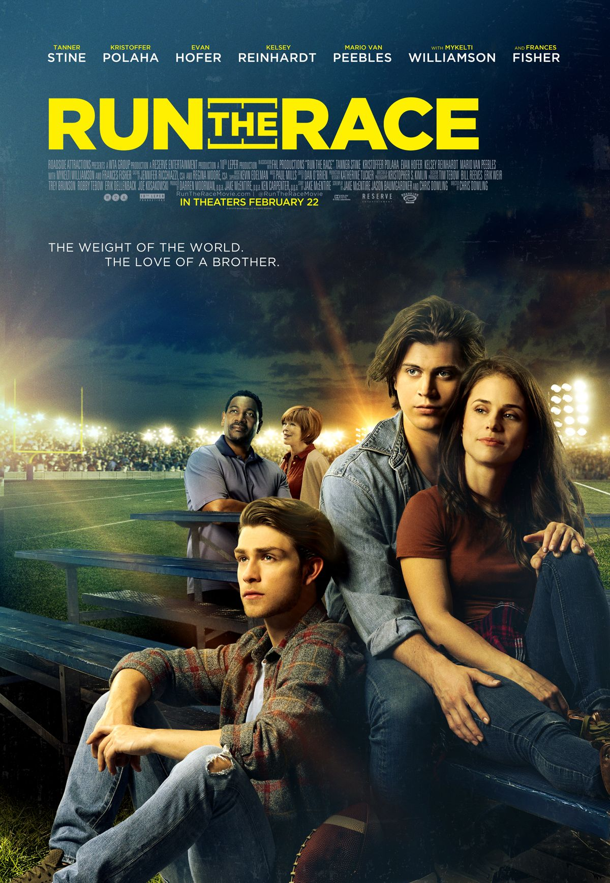 RUN THE RACE In select theaters February 22, 2019